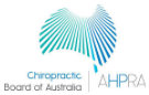 Australian Health Practitioner Regulation Agency - Chiropractic Board of Australia